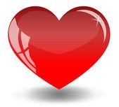 Ed heart — Stock Vector