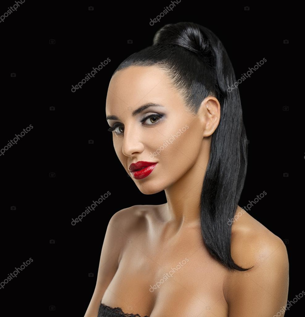Фото красивых женских профилей 29 фотография