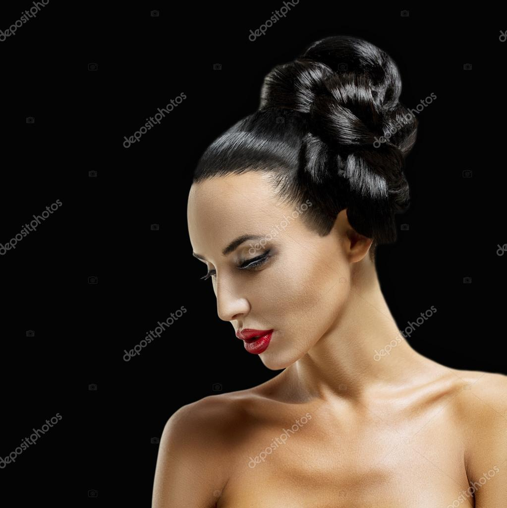 Фото красивых женских профилей 25 фотография