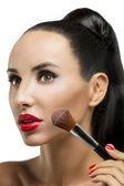 Cosmética. base de maquillaje perfecto — Foto de Stock