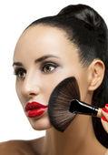 Kozmetik. kusursuz makyaj için temel — Stok fotoğraf
