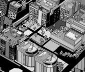 Urbain ville. — Vecteur