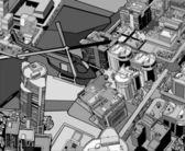 Urban city. — Stock Vector