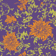 Vintage floral seamless pattern — Stock Vector #19662535