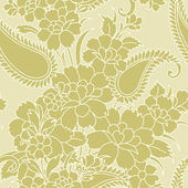 Elegance Seamless pattern with flowers — Stock Vector