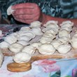 Dumplings on the table — Stockfoto