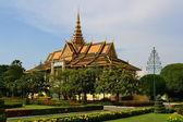 Palacio Real, phnom penh, Camboya Palacio, phnom penh, Camboya — Foto de Stock