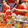Typical Chinese New Year goodies — Stock Photo