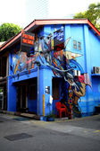 Funky pub at Haji Lane — Stock Photo