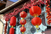 Chinese lanterns at Haji Lane — Stock Photo