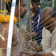 Stock Photo: Preparing for Thaipusam festival 2013