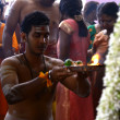 Stock Photo: Thaipusam festival 2013