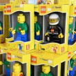 LEGO zu verkaufen bei legoland — Stockfoto