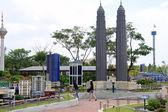 Petronas towers v legoland — Stock fotografie