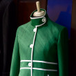 Foto Stock: Mannequin modelling jackets in tailor shop in Hoi An