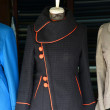 Mannequin modelling jackets in tailor shop in Hoi An — Stock Photo #40793425