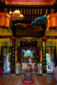 Temple ancestral house and art gallery in Hoi An, 'vietnam — Stock Photo
