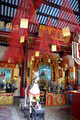 Joss sticks in Chinese temple in Hoi An, Vietnam — Stock Photo