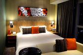卧室公寓酒店 — 图库照片