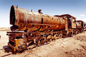 Rusty old steam locomotive — Stock Photo