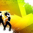 Fitness dance — Stockfoto