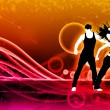 Fitness dance — Stock Photo