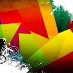 Постер, плакат: BMX jumping