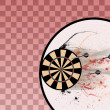 Darts background — Stock Photo