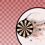 Darts background — Stock Photo