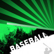Abstract baseball — Stock Photo