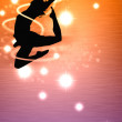 Dance girl — Stock Photo