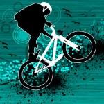 Bike jumping — Stock Photo #19502051