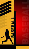 Abstract baseball — Stock Photo