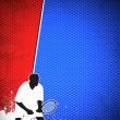 Tennis sport background — Stock Photo #21037399