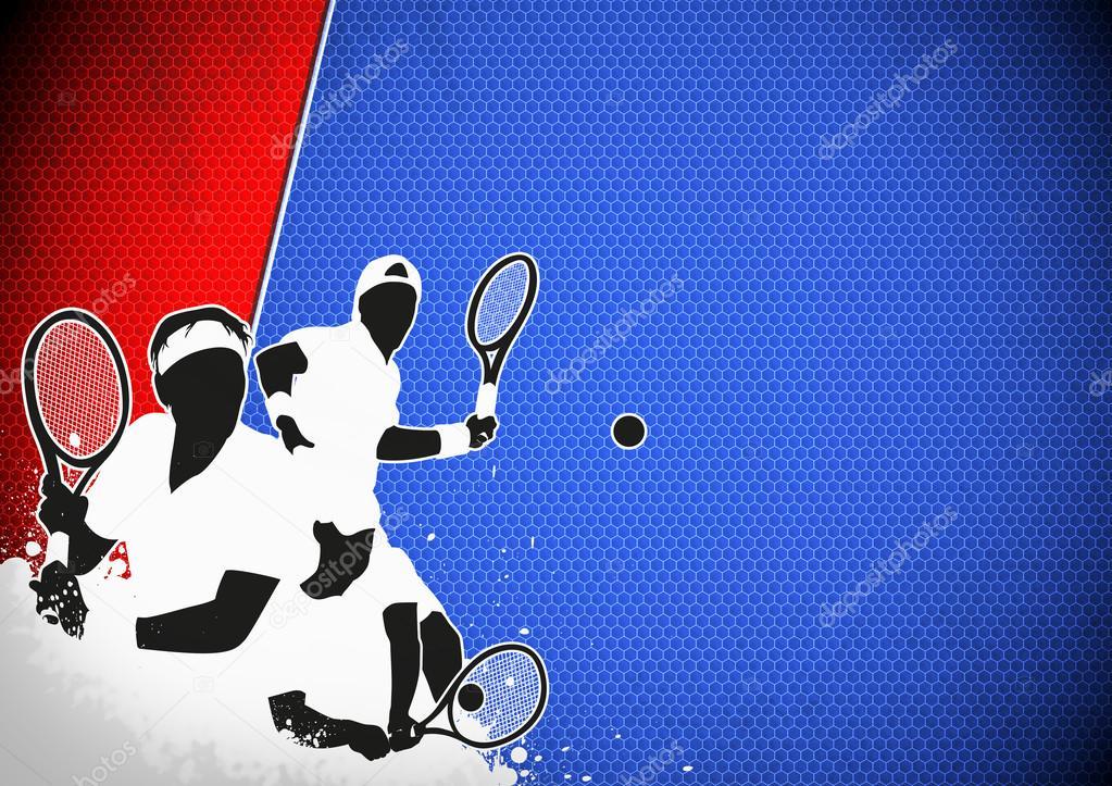 网球海报_