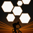 Bike background — Foto Stock