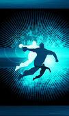 Handball shot — Stock Photo