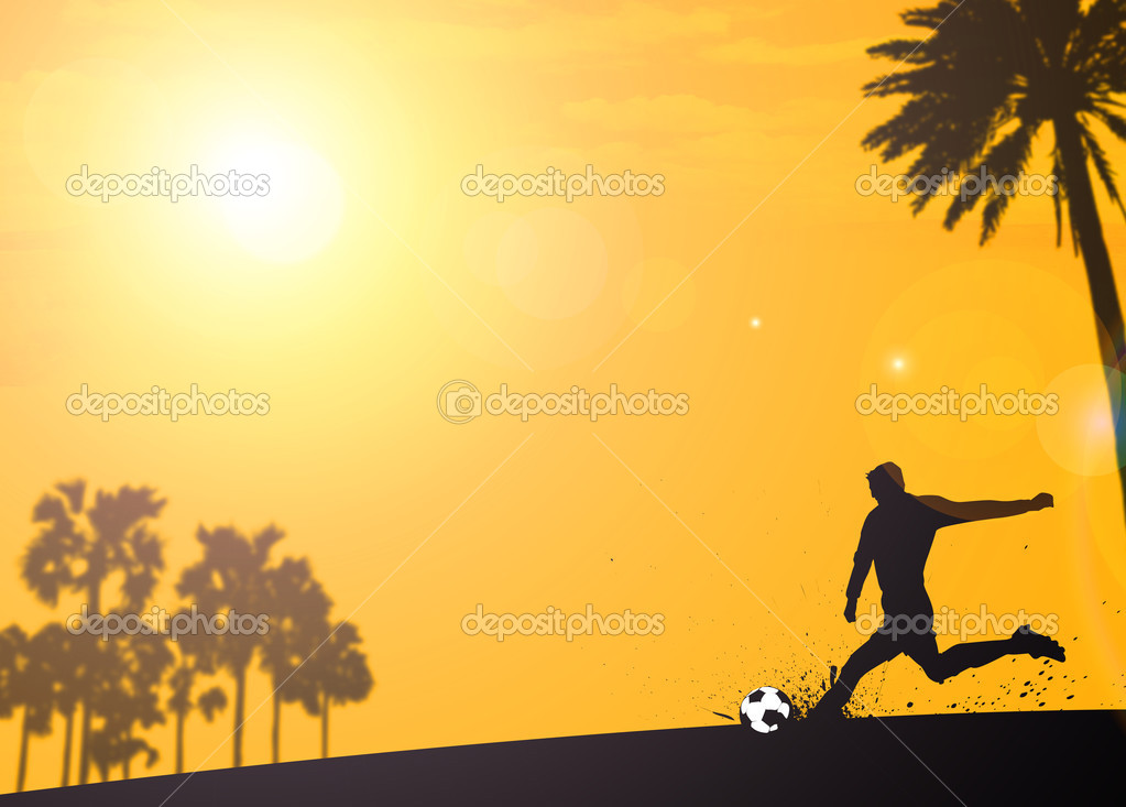 Depositphotos Stock Photo Soccer Football Background Poster Tournament