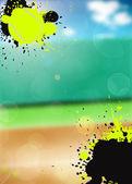 Tennis sport background — Stock Photo