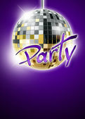 Mirrorball disco background — Stockfoto