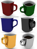 Coffee mugs — Foto de Stock