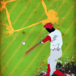 Baseball background — Stockfoto