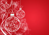 Christmas decoration background — Foto Stock