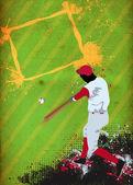 Baseball background — Stock Photo