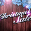 Christmas Sale background — Stock Photo