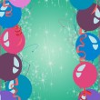 Happy new year or birthday party background  — Foto de Stock