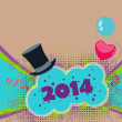 Happy new year background — Foto Stock