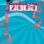 Happy new year background — Stock Photo