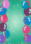 Happy new year or birthday party background — Stock Photo