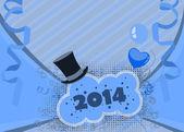 Fond de bonne année — Photo